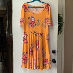 Beautiful Lularoe Nicole dress 2XL